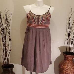 Maurices,Embroidered Knee dress Size 1Xl